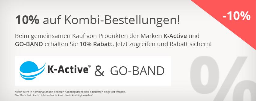 10% auf K-Active und Go-Band Kombi
