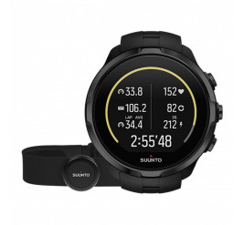 Suunto Spartan Sport Wrist HR All Black Brustgurt